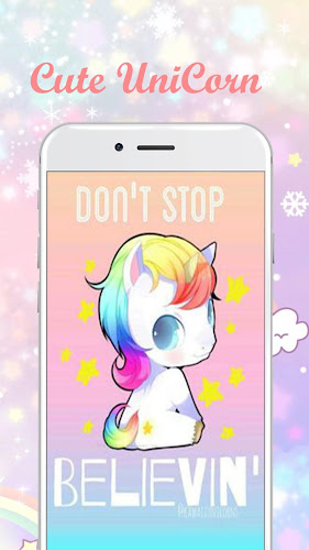 Kawaii Unicorn Wallpapers And Pictures Android App Screenshot