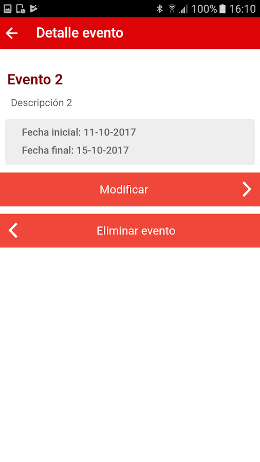 Bilbao Events- screenshot