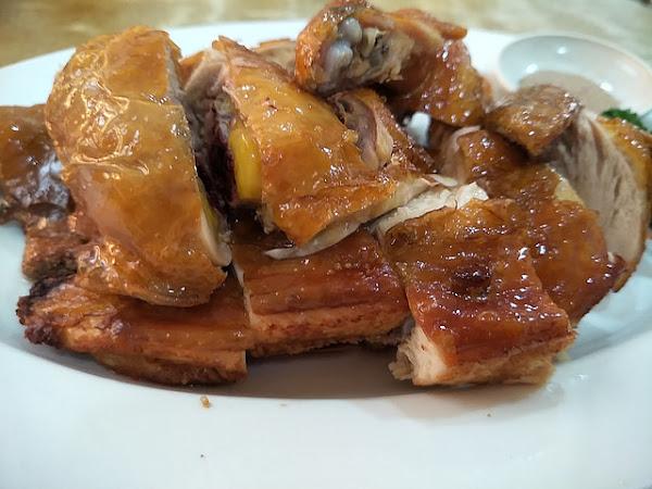 新華港式菜館 / 招牌脆雞必點 / 台北南京東路美食