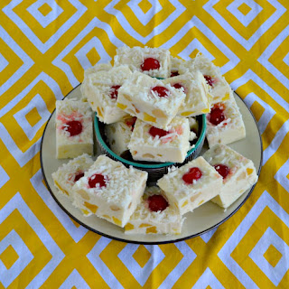 Easy Pina Colada Fudge