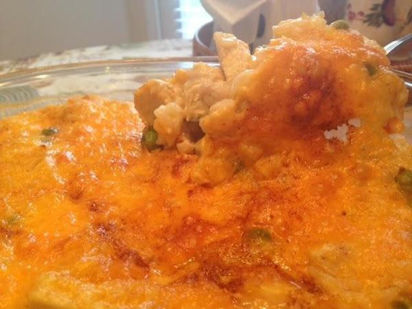 Cheesy Chicken And Rice Casserole Recipe