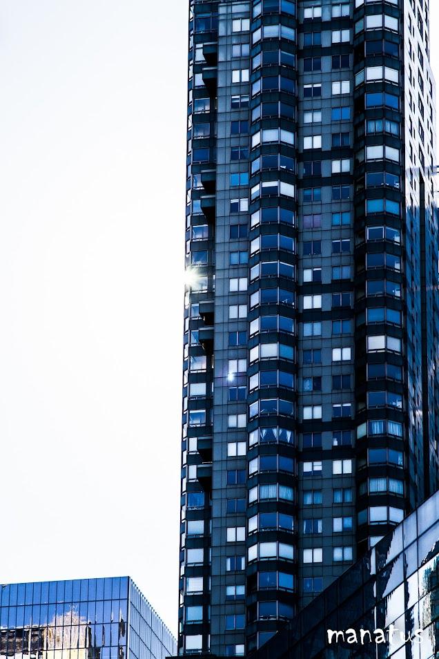 sol en rascacielo