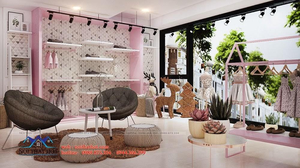 trang trí thiết kế shop thời trang chuyên nghiệp