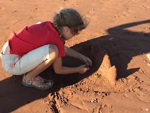Photo: Obowiazkowy zamek z piasku.