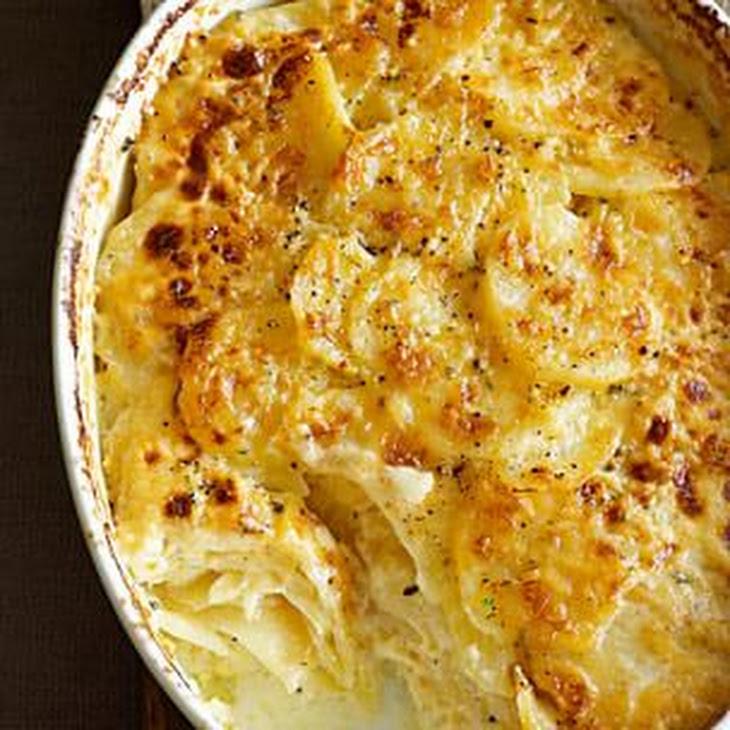 potato celery root gratin recipes yummly potato and celery root gratin ...