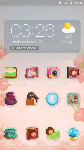 Pink Dreams Hola Theme
