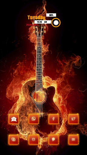 The Fire Guitar