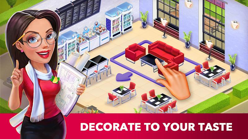 My Cafe: Recipes & Stories - Restaurant Game Screenshot 1
