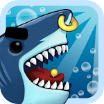Angry Shark Evolution - Idle Cute Clicker Tap Game Icon