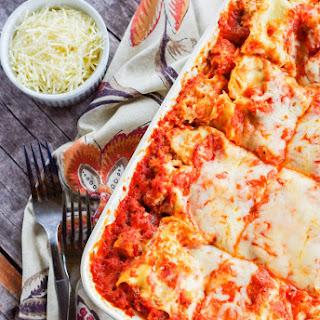 Easy Chicken Parmesan Lasagna.