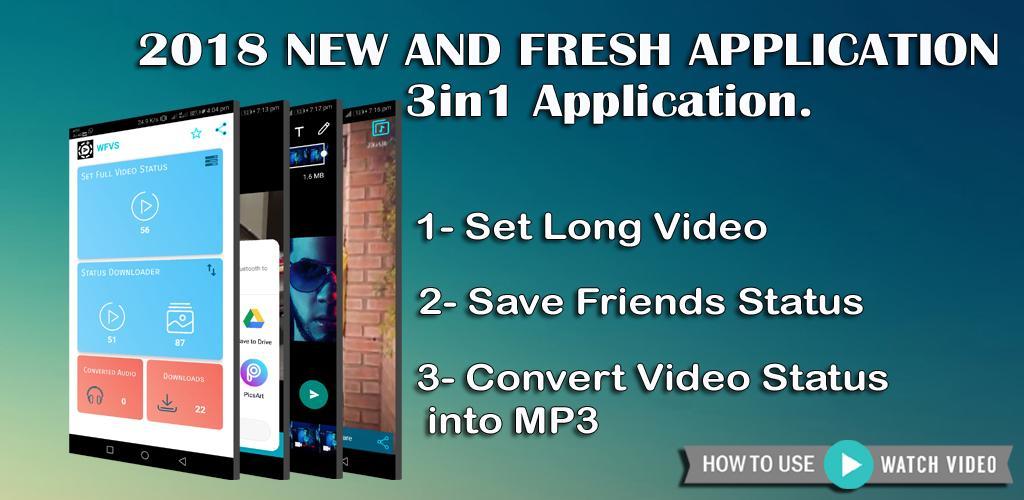 WFVS | WhatApp Full Video Status - Video Splitter 1 8 Apk Download