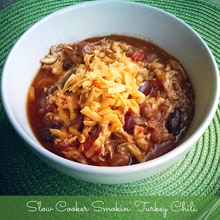 Slow Cooker Smokin' Turkey Chili