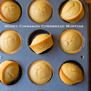 Honey Cinnamon Cornbread Muffins