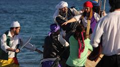 El Desembarco Pirata en San José consigue reunir cada año a miles de visitantes