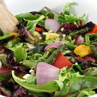The Season's Best Fresh Roasted Vegetable Salad