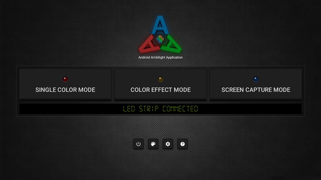 Ambient light Application for Android Android App Screenshot