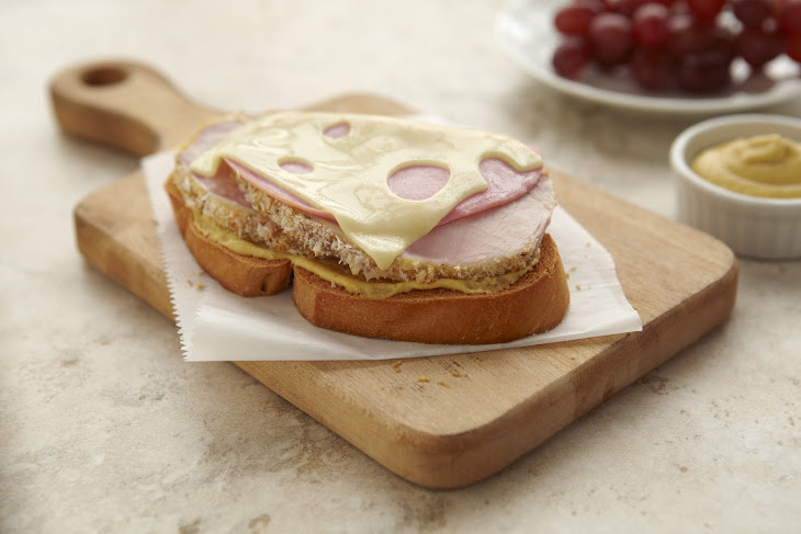 Pork Cordon Bleu Sandwiches