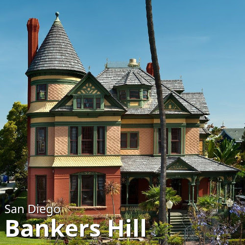 San Diego's Bankers Hill (Park West) neighborhood