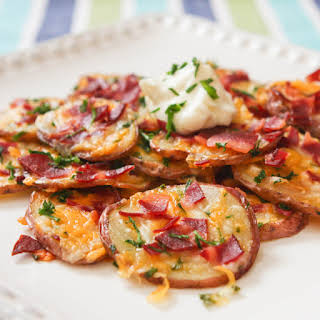 Loaded Baked Potato Rounds.
