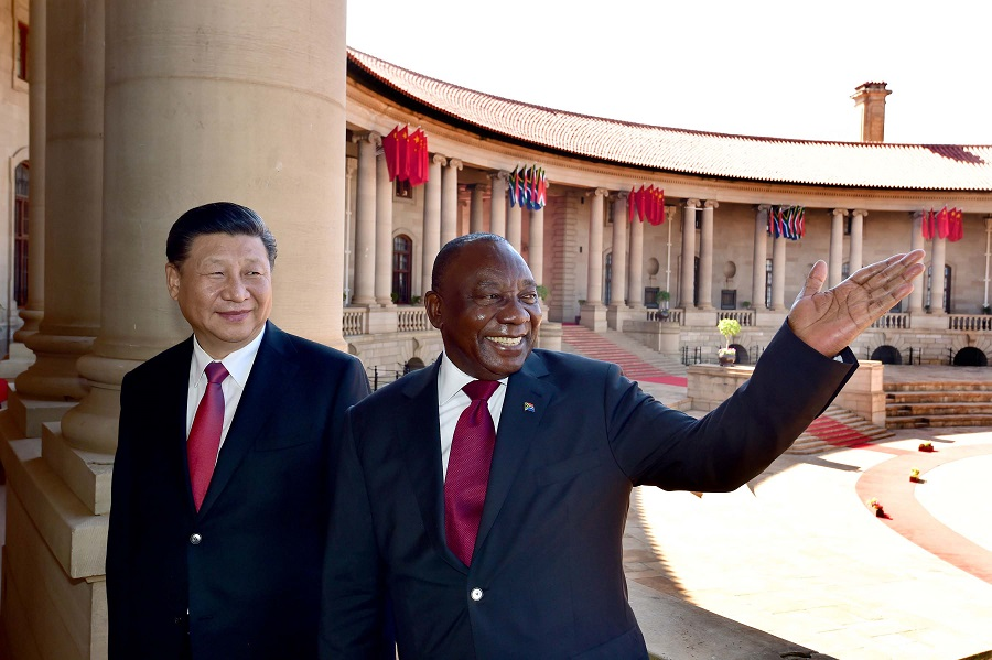 STEVEN BOYKEY SIDLEY: Is China pulling the wool over Ramaphosa's eyes?