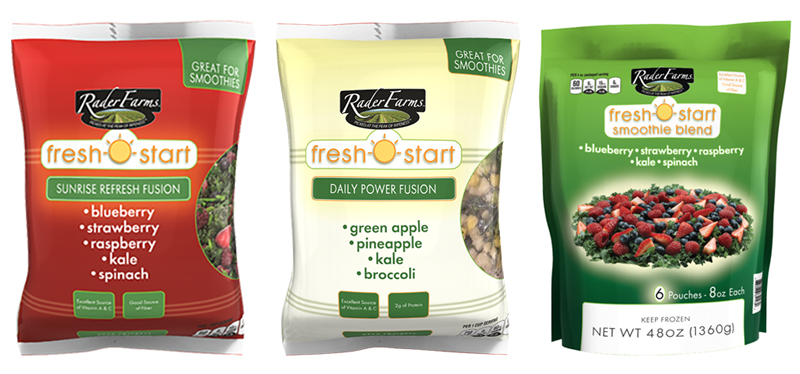 Rader Farms Fresh Start Smoothie Blends