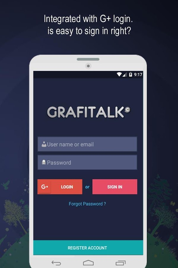 GrafiTalk- screenshot