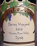 Nickel & Nickel Darien Vineyard Syrah