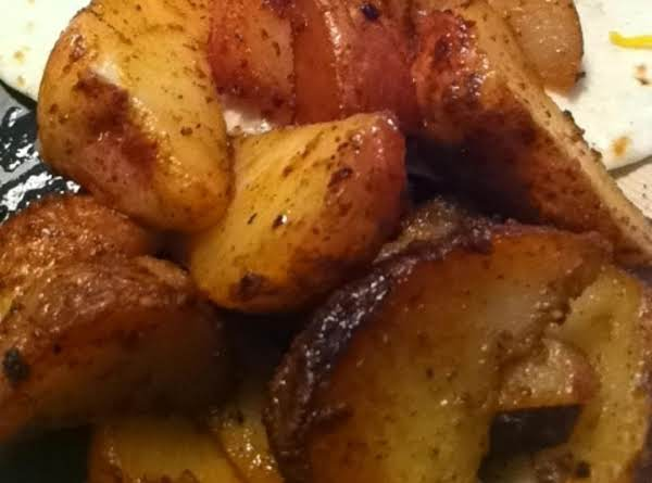 Crisp And Spicy Fried Red Potatoes Recipe