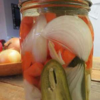 Spicy Pickled Jalapeno Carrots