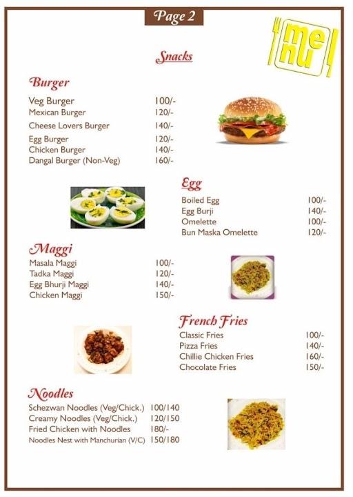 Bombay Flavours menu 3