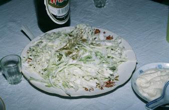 Photo: 03506 シリンホト郊外/観光ゲル/食事