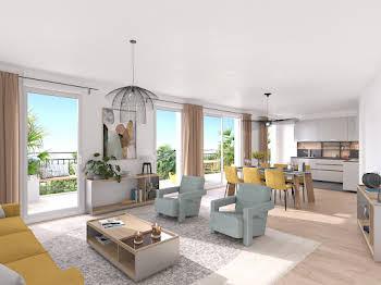 Appartement 2 pièces 43,86 m2
