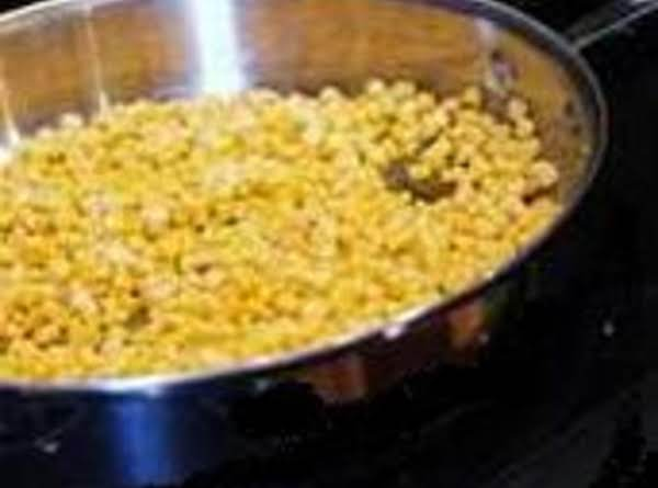 Sauted Corn Recipe