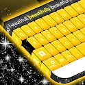 Yellow Keyboard icon