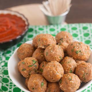 Mini Turkey Meatballs.