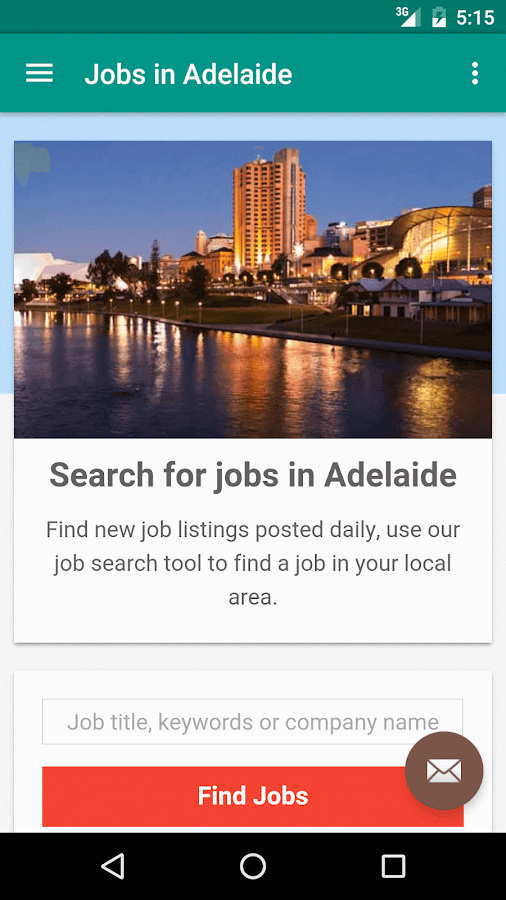 Jobs in adelaide australia android apps on google play for Architecture jobs adelaide
