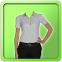 Women Shirt Photo Suit icon