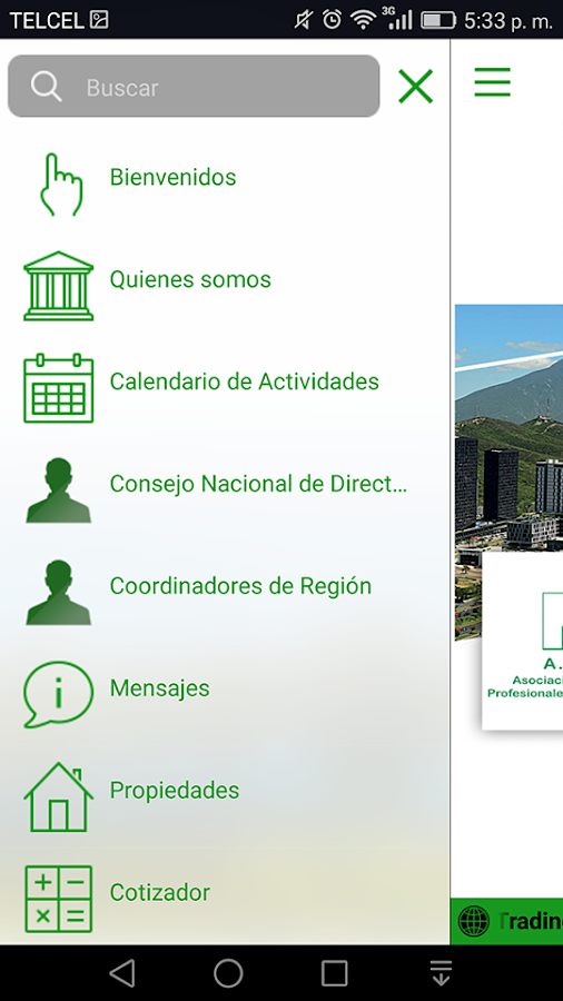 AMPI Nacional- screenshot