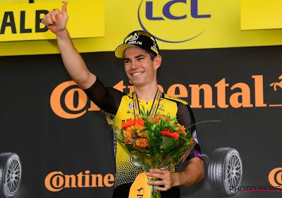 """Complimenten van Sagan én de gele trui voor Van Aert: """"Zeker niet verbaasd door Wout"""""""