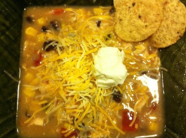 5 Or 6 Can Chicken Tortilla Soup Recipe