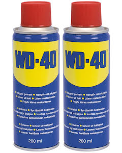 WD-40 Multispray 200ml 2-Pack