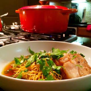 Pork Belly Oxtail Soup.
