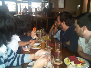 Photo: Finishing Lunch with My Goethe-Institut Berlin German Class