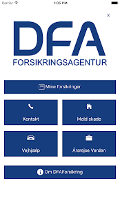 DFAForsikring- screenshot thumbnail