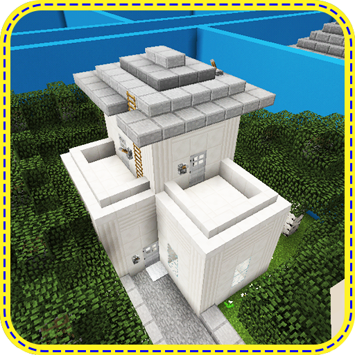 Where is the button? At home. Map for MCPE
