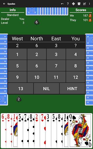 Spades by NeuralPlay 3.43 6