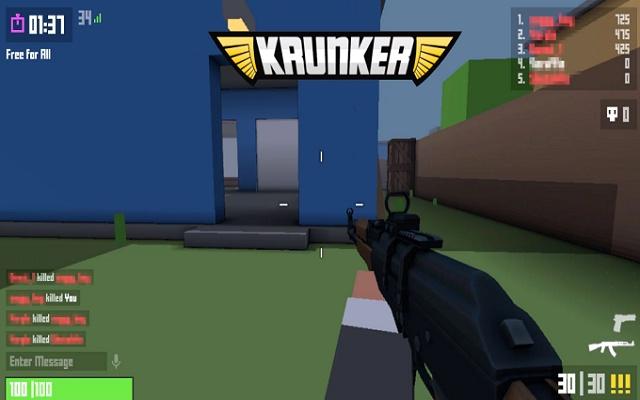 Krunker Strike Unblocked Game