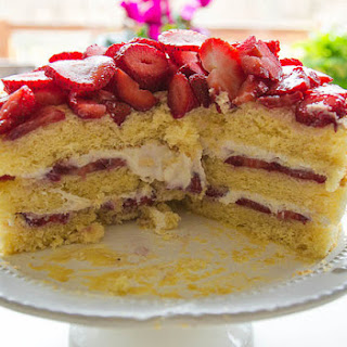 Italian Strawberry Shortcake (Cassata)
