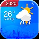 Weather Forecast & Clock Widget icon