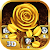 Imperial Gold Flower 3D Theme file APK Free for PC, smart TV Download